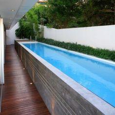 Pool. I love the one lane pools. :)