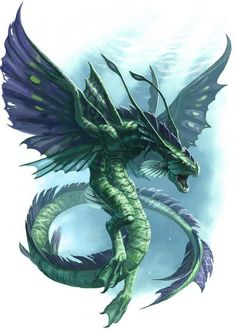 Dragon- Craig J Spearing Creature Concept Art, Creature Design, Water Dragon, Sea Dragon, Cool Dragons, Dragon Pictures, Fantasy Monster, Mythological Creatures, Sea Monsters