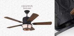 Monte Carlo Essex 54 In Espresso Ceiling Fan With