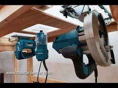Table saw - - table saw - .- Table Saw – – Table Saw – – Workbench Plans, Woodworking Workbench, Woodworking Projects Diy, Wood Projects, Youtube Woodworking, Workbench Table, Router Projects, Woodworking Shop Layout, Homemade Tools