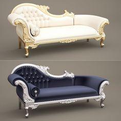 fabulous chaise longue obj