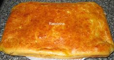 Ratolinha - Receitas de Culinária : Carne - Bola Waffles, Cornbread, Pie, Breakfast, Ethnic Recipes, Desserts, Savory Foods, Portuguese Recipes, Delicious Recipes