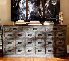 Thinking about this to replace our current tv console.  Clerk's Console Table | Pottery Barn