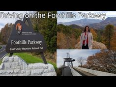 Drive On Foothills Parkway Over The Missing Link Link Youtube, Missing Link, Blue Ridge Parkway, Great Smoky Mountains, Tennessee, National Parks