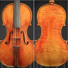 A #violin crafted by #violinmaker Sergio Peresson is available for examination and trial.