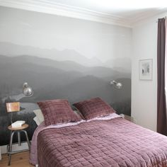decovry.com - OhMyWall | Papier peint Collines lointaines  - Panoramique
