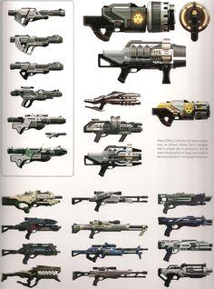 Mass Effect Weapons