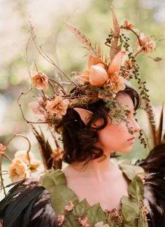 Style Inspiration: A Midsummer Night's Dream :  wedding central ca color schemes decor Fairy 2 Photobucket
