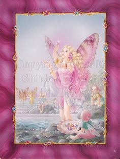 Shirley Barber. Loved reading her books and looking at the beautiful fairies as a kid