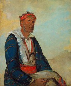 Cherokee Chief, 1834