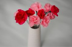 swellmayde: MOTHER'S DAY DIY | CREPE PAPER FLOWERS