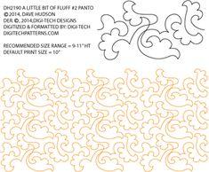 Little Bit of Fluff #2 Pantograph by Dave Hudson DH2190