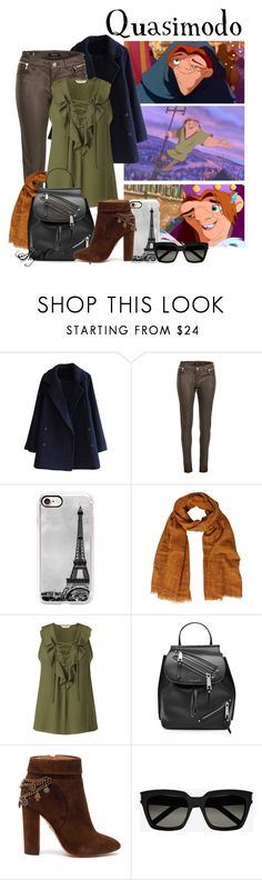 """Quasimodo - Winter - Disney's Hunchback of Notre-Dame"" by rubytyra ❤ liked on Polyvore featuring Morgan, Casetify, White Stuff, Miss Selfridge, Marc Jacobs, Aquazzura, Yves Saint Laurent, Winter, disney and disneybound"