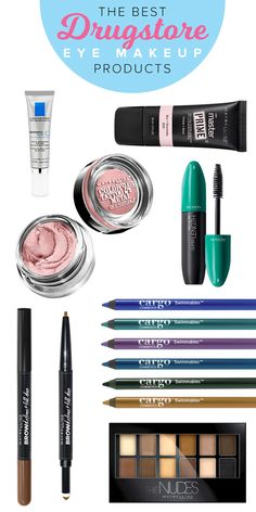 These are the best eye makeup products available at your local drugstore. From eyeshadow to eyeliner to mascara to skincare products, try buying these next time you want to revamp your eye makeup routine.