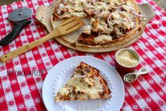 Mrs. Criddle's Favorite Pizza- BBQ CHICKEN PIZZA with a homemade sauce (THM S & Low Carb).