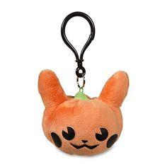 Pumpkin Pikachu Keychain Plush