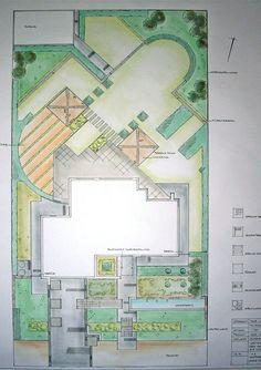 Ah, zo teken je dus een tuinplan