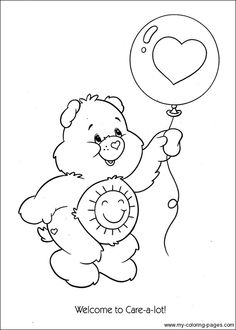 443 Best Care Bears Coloring Pages