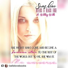 Love you babe! Thank you for this!! #Repost @bellelovebooks with @repostapp  @awildingwells you are one unique storyteller and I am loving everything about this story already! #SunshineBleedsABlackEdge #WildThingsSeries #AWildingWells
