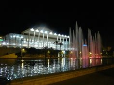 The Palace of Music in Valencia, Spain