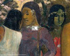 Paul Gauguin [Paris, 1848 - Atuona, Iles Marquises, 1903] Nave Nave Mahana 1896 Huile sur toile H.95 ; L. 130 cm Acquis en 1913 C'est le premier tableau de Gauguin acheté par un musée français.