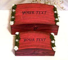 Regalo de Boda. Regalo de Cajas de Madera. por Personalizedbox
