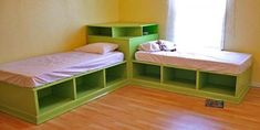 DIY corner beds