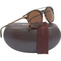 Michael Kors Jameson Designer Sunglasses Olive Horn Frame Brown Lens MKS349M 310