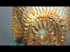 Túnica Mandala parte 4 (Crochê Pai D'égua) - YouTube