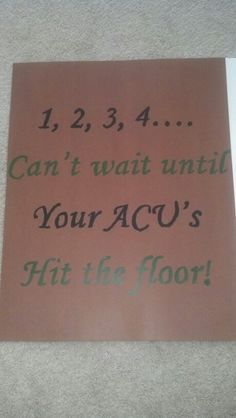 Military homecoming sign for the bedroom door!...yeah, I was gonna say.  Totally not appropriate for the homecoming ceremony, but this also made me laugh!