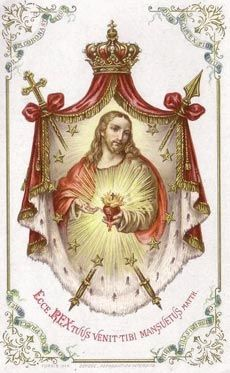 The Sacred Heart is the symbol of that infinite Love surpassing all understanding, the mystery hidden from all eternity and revealed in the living Heart of the Incarnate God.