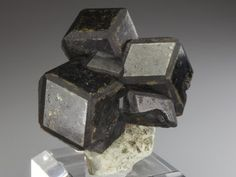 Andradite Garnet in large crystals from the seldom seen location of the Kayes Region of Mali.