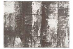 Contempo Rug, Gray/White