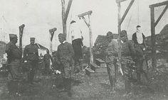 1915: Veljko Cubrilovic, Danilo Ilic and Misko Jovanovic, Archduke Ferdinand's assassins. On 3rd February 1915, three of the Black Hand conspirators who had assassinated Archduke Franz Ferdinand in Sarajevo the previous June were hanged for treason and murder as the World War that assassination ignited engulfed Europe.