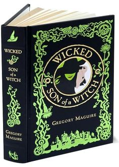 Wicked/Son of a Witch (Barnes & Noble Leatherbound Classics)  by Gregory Maguire    (Can be bought at Barnes & Noble)