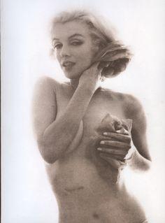 Marilyn Monroe by Bert Stern Marilyn by Bert Stern, taken in 1962. This is my favorite of the Stern photos.
