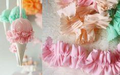 Prepara helados para decorar tu fiesta...