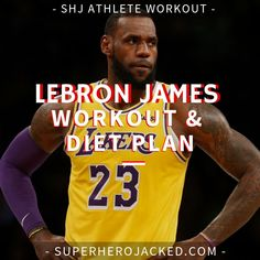 Lebron James Workout Routine and Diet Plan: Train like The King of The NBA Leg Press, Bench Press, Lebron James Workout, Funny Nba Memes, Pyramid Training, Barbell Deadlift, Athlete Workout, 30 Minute Workout, Training Motivation