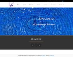 "Check out new work on my @Behance portfolio: ""H2O Italia - Sito Web Aziendale"" http://be.net/gallery/52500077/H2O-Italia-Sito-Web-Aziendale"