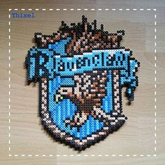 Ravenclaw crest - Harry Potter hama beads by thixel