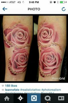 Beautiful roses Tattoo