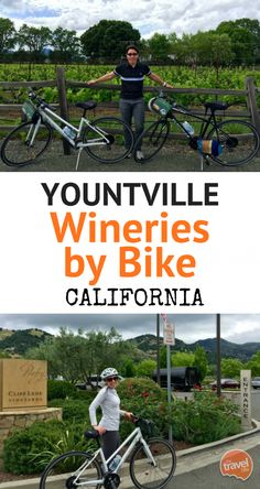 Exploring Yountville Wineries by Bike ~ http://thetravelbite.com  A cruise through some of the best wineries in Napa Valley, California.