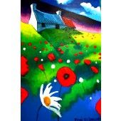 Poppie Cottage Poppies, Fine Art Prints, Cottage, Paintings, Paint, Art Prints, Cottages, Painting Art, Poppy