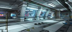 Sci-fi Level Kit - Asset Store