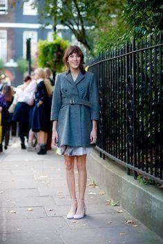 Street Style Aesthetic » Blog Archive » London – Alexa Chung