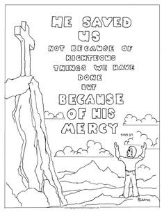 Coloring Pages for Kids by Mr. Adron: I am The Bread Of