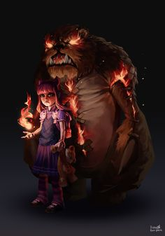 Annie and Tibers