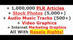 LIFETIME Of Content Media Graphics Resale Rights Review and Bonuses  LIFETIME Of Content Media & Graphics Resale Rights Review and Bonuses Download LIFETIME Of Content Media & Graphics Resale Rights with HUGE BONUS : http://ift.tt/2hFB8yd LIFETIME Of Content Media & Graphics Resale Rights Reviews and Bonus by Leon Tran Every internet marketer needs content graphics stock photos & audio tracks. sooner or later. You will have unlimited usage rights for your own projects or client's projects…