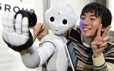 A robot named pepper in Japan has attended high school for the first time. The robot is equipped with sensors and cameras and it's able to recognize a wide range of human emotions and it can speak two different languages including Japanese and English. Worst Inventions, Japanese Robot, Computational Thinking, Humanoid Robot, Go To High School, I Robot, Deep Learning, Human Emotions, Grafik Design