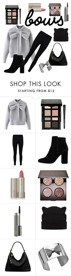 """""""Sweetheart"""" by a-small-mango ❤ liked on Polyvore featuring WithChic, Bobbi Brown Cosmetics, Boohoo, MANGO, Ilia, Laura Mercier, MAC Cosmetics, Michael Kors and bows"""